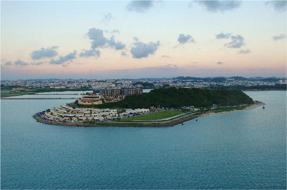 現在の瀬長島